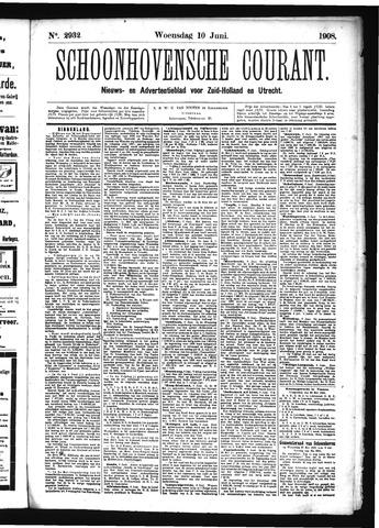 Schoonhovensche Courant 1908-06-10