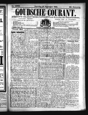 Goudsche Courant 1913-09-27
