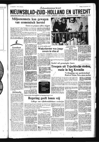 Schoonhovensche Courant 1968-09-13
