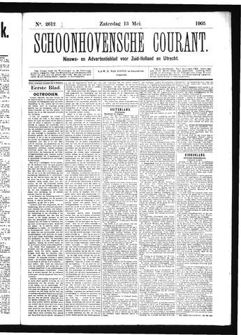 Schoonhovensche Courant 1905-05-13