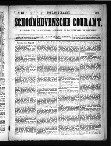 Schoonhovensche Courant 1873-03-02