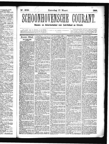 Schoonhovensche Courant 1906-03-17