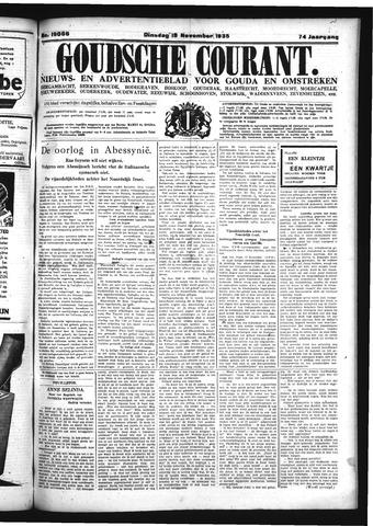 Goudsche Courant 1935-11-19