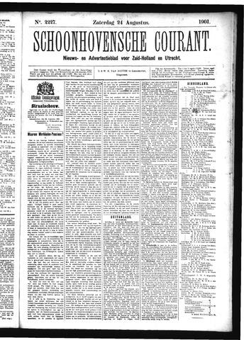 Schoonhovensche Courant 1901-08-24