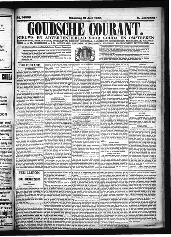 Goudsche Courant 1922-06-19