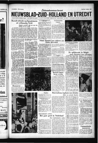 Schoonhovensche Courant 1961-10-02