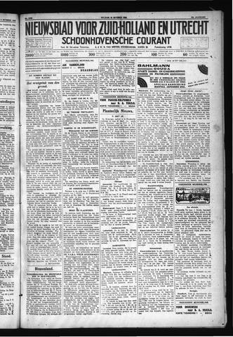 Schoonhovensche Courant 1930-10-10