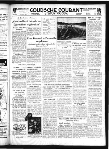 Goudsche Courant 1950-02-06
