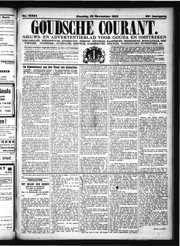 Goudsche Courant 1923-11-20