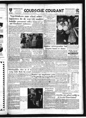 Goudsche Courant 1957-09-26