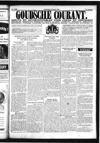 Goudsche Courant 1939-01-12