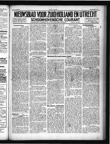 Schoonhovensche Courant 1947-07-04