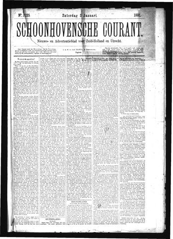 Schoonhovensche Courant 1891