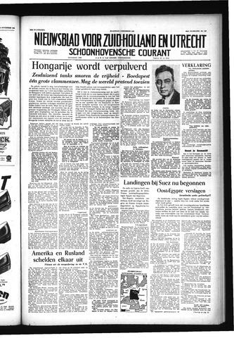 Schoonhovensche Courant 1956-11-05