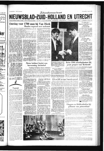 Schoonhovensche Courant 1967-04-05