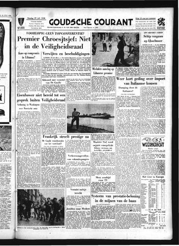Goudsche Courant 1958-07-29
