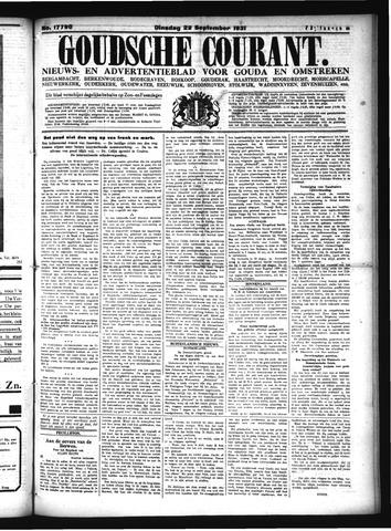Goudsche Courant 1931-09-22