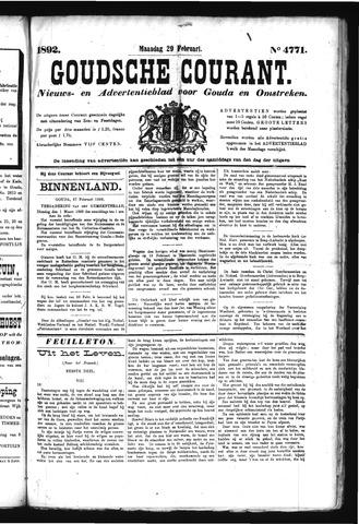 Goudsche Courant 1892-02-29