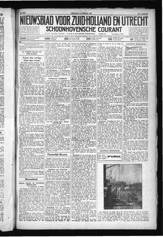 Schoonhovensche Courant 1930-02-19