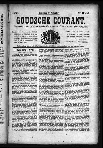 Goudsche Courant 1883-11-28