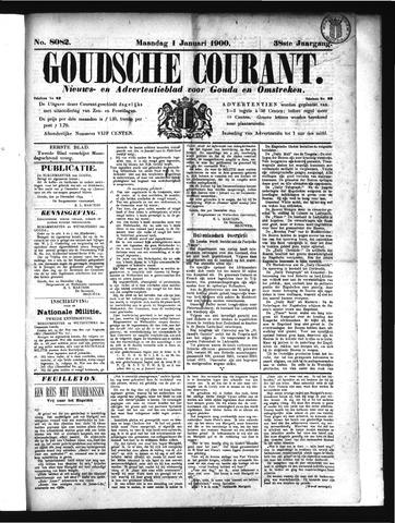 Goudsche Courant 1900