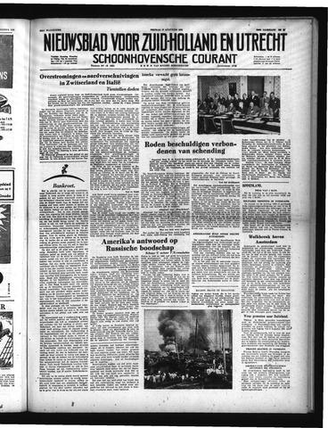 Schoonhovensche Courant 1951-08-10