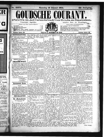 Goudsche Courant 1914-01-12