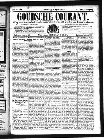 Goudsche Courant 1917-04-02