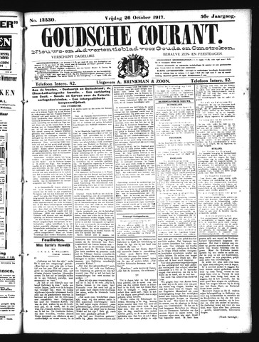Goudsche Courant 1917-10-26
