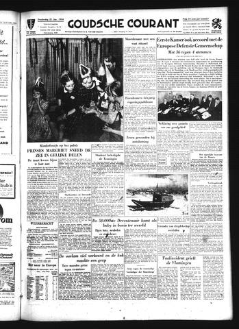 Goudsche Courant 1954-01-21