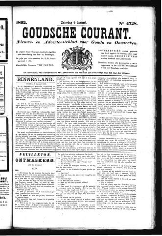 Goudsche Courant 1892-01-09
