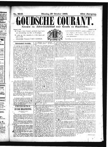 Goudsche Courant 1903-10-27