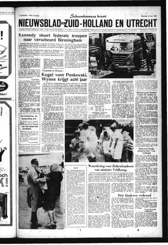 Schoonhovensche Courant 1963-05-13