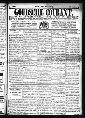 Goudsche Courant 1922-02-28