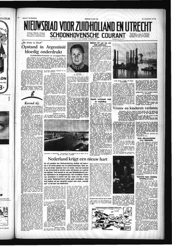 Schoonhovensche Courant 1955-06-17