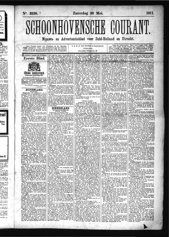 Schoonhovensche Courant 1911-05-20