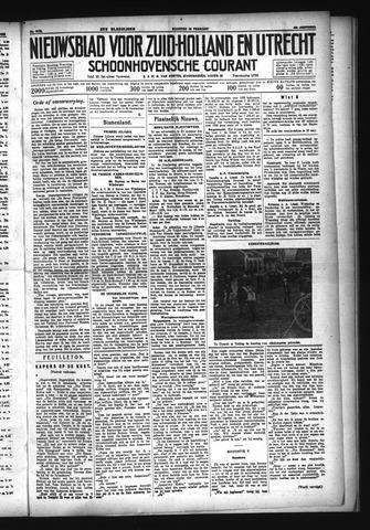 Schoonhovensche Courant 1933-02-20