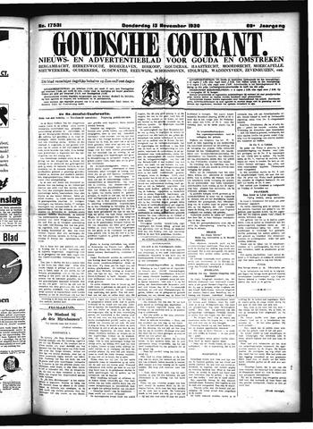Goudsche Courant 1930-11-13
