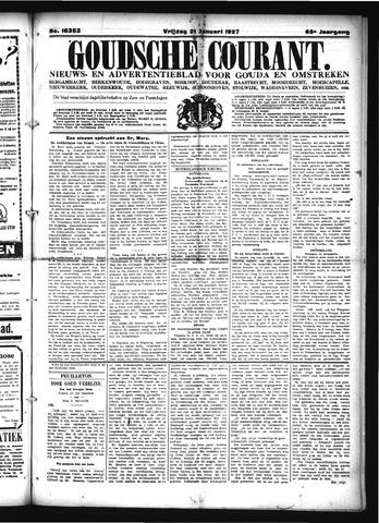 Goudsche Courant 1927-01-21