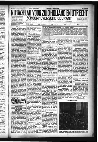 Schoonhovensche Courant 1933-02-22