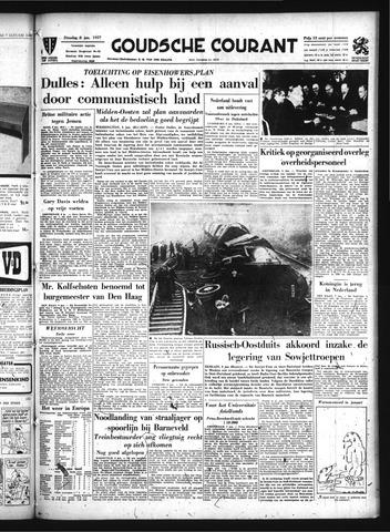 Goudsche Courant 1957-01-08