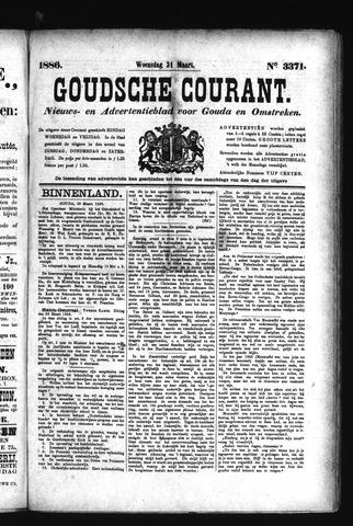 Goudsche Courant 1886-03-31
