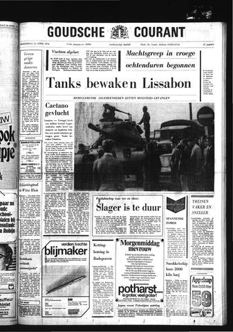 Goudsche Courant 1974-04-25