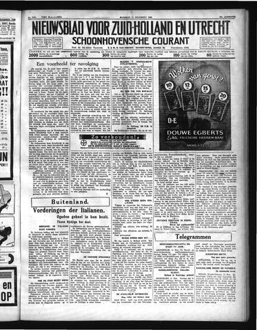 Schoonhovensche Courant 1935-11-11