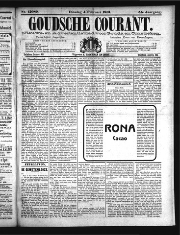 Goudsche Courant 1913-02-04