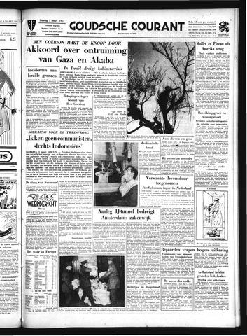 Goudsche Courant 1957-03-05
