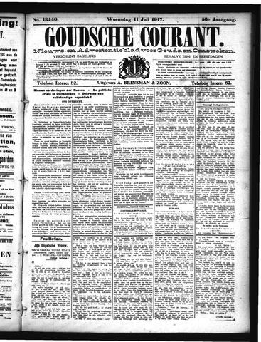 Goudsche Courant 1917-07-11