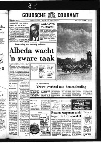 Goudsche Courant 1977-07-21