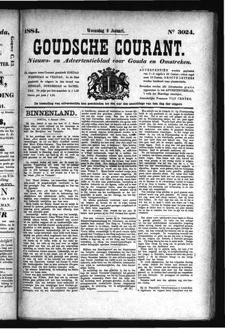 Goudsche Courant 1884-01-09