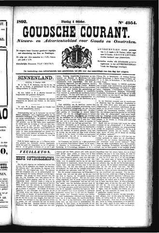 Goudsche Courant 1892-10-04